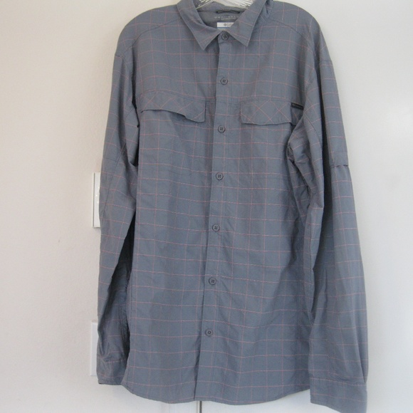 d89cb11d8 Columbia Shirts | Mens Silver Ridge Plaid Long Sleeve Shirt | Poshmark